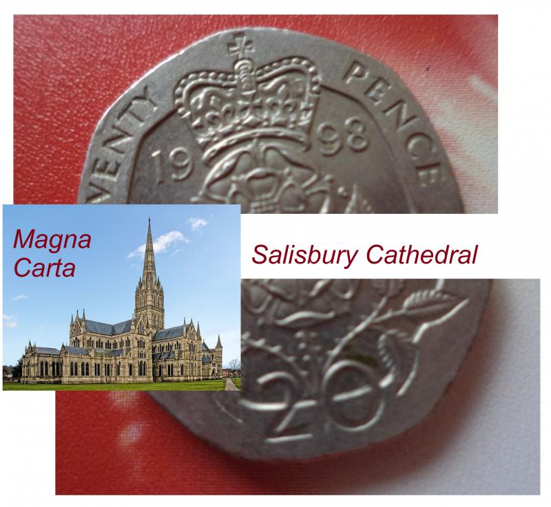 20p salisbury cathedral