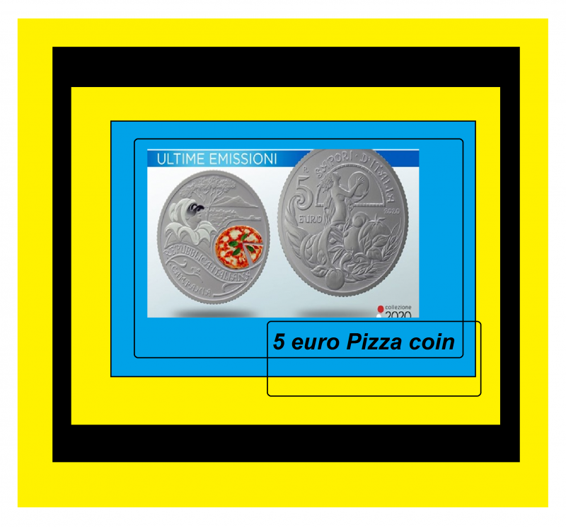 5 euro pizza coin 7564351