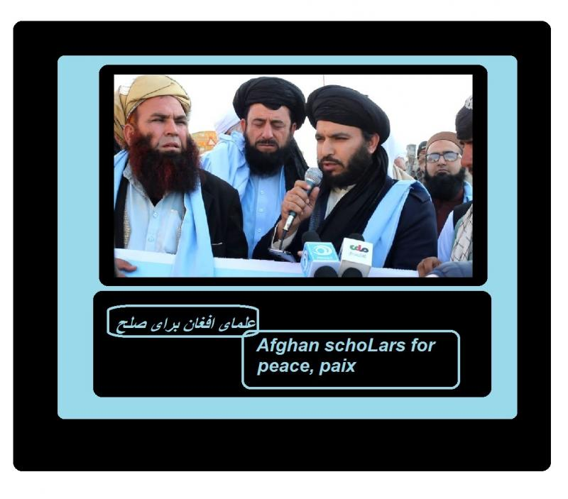 Afghan schoLars for peace paix