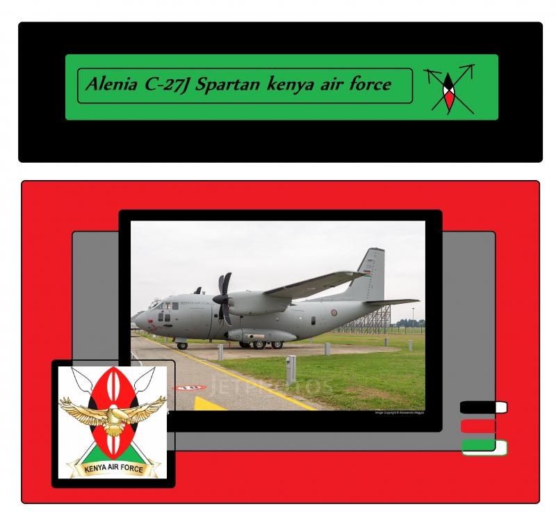 Alenia C-27J Spartan kenya air force 7865431