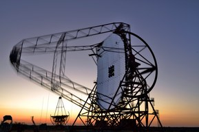 HESS High Energy Stereoscopic System Namibia 2nd Largest radio teLescope