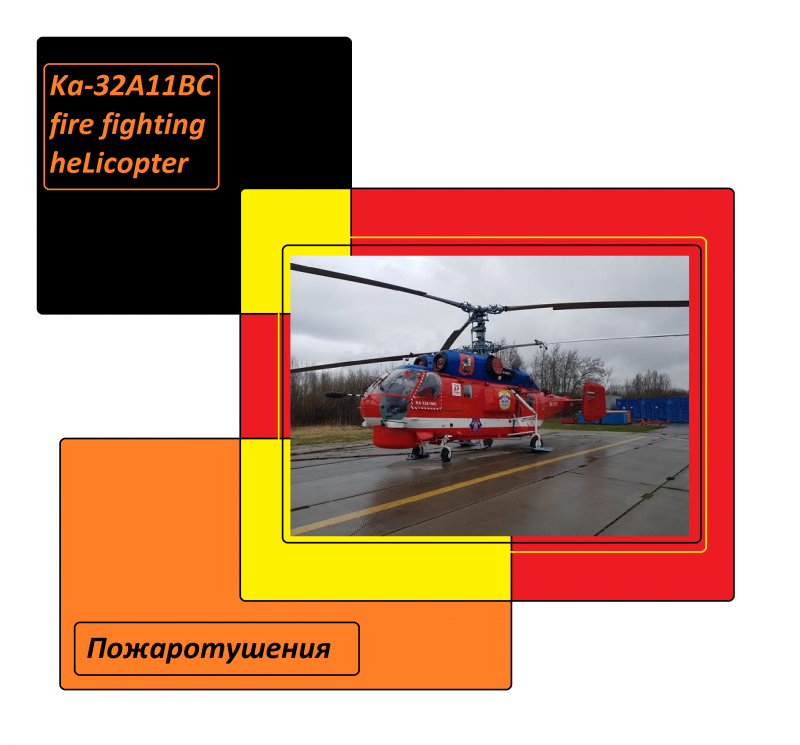 Ka-32A11BC fire fighting heLicopter ruskie