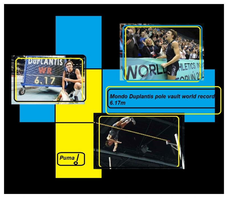 Mondo Duplantis pole vault world record 7