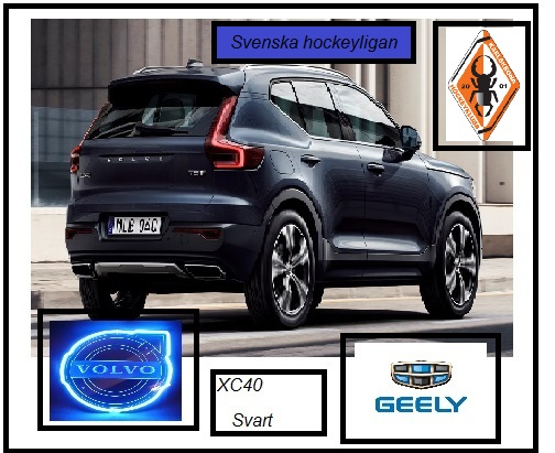 Volvo xc40 noire swedish hockey league
