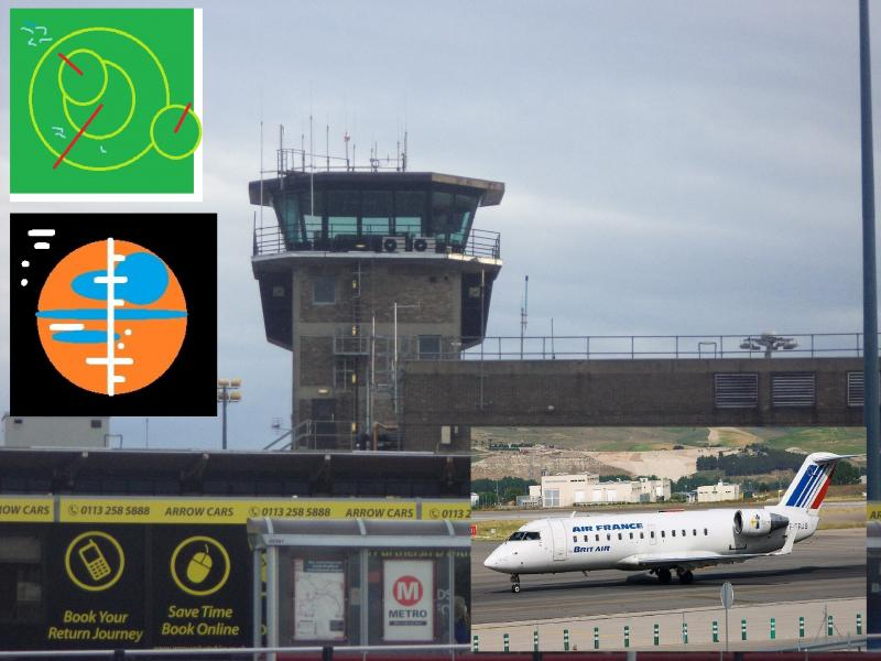 air traffic control, leeds plus radar horizon france