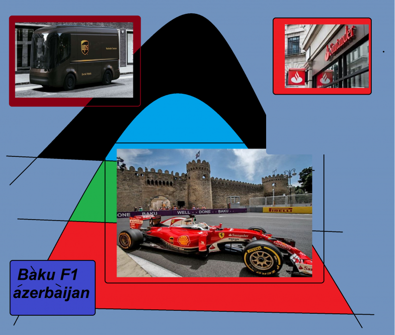 baku f1 azerbaijan ups santander as weLL 876941