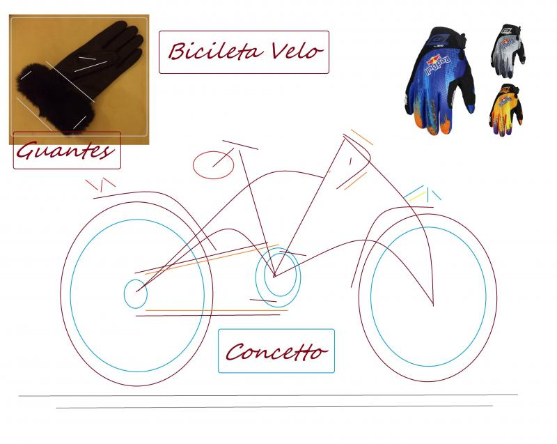 concept bicycle glove