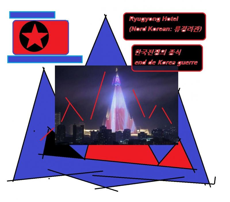 end de korea guerre war ryugyong hotel