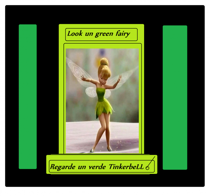 green fairy tinkerbell