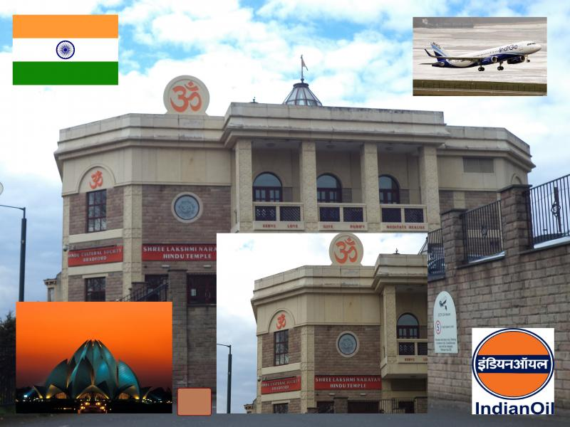 hindu temple 1 bradford india flag indigo