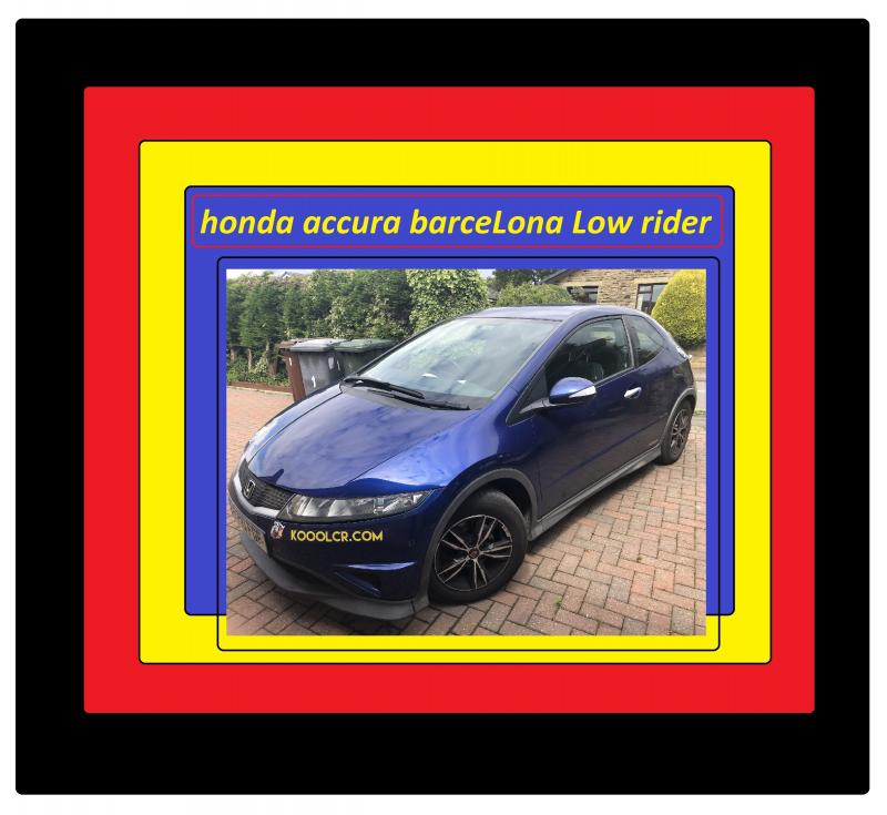 honda accura barceLona Low rider 785651