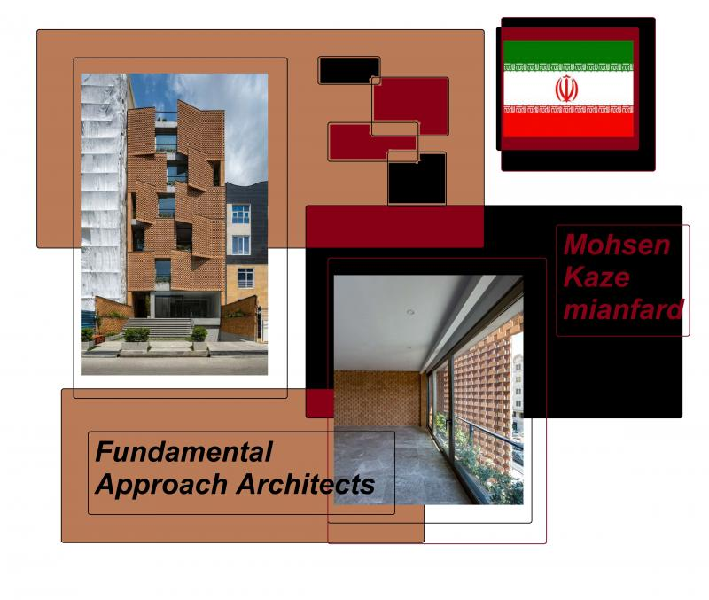 iran brick building
