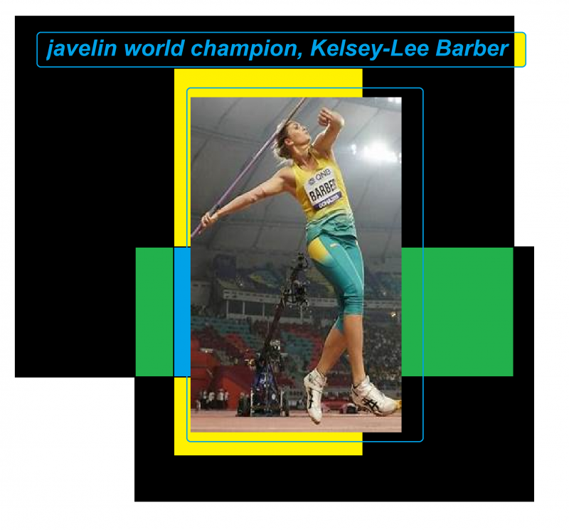 javelin world champion Kelsey-Lee Barber