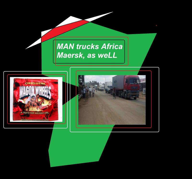 man trucks africa maersk as well wagon wheels