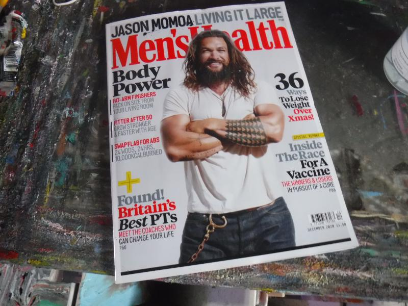 mens HeatLh magazine £4.95 from whsmiths