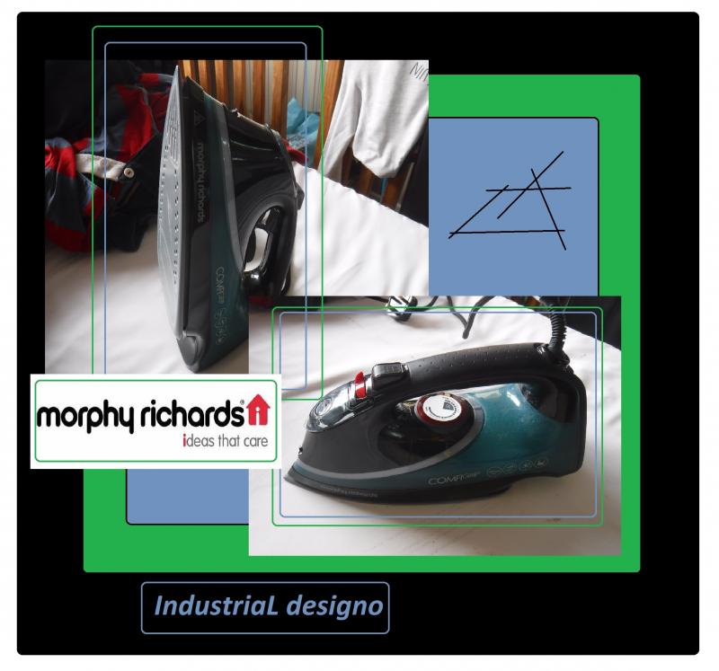 morphy richards Iron IndustriaL designo