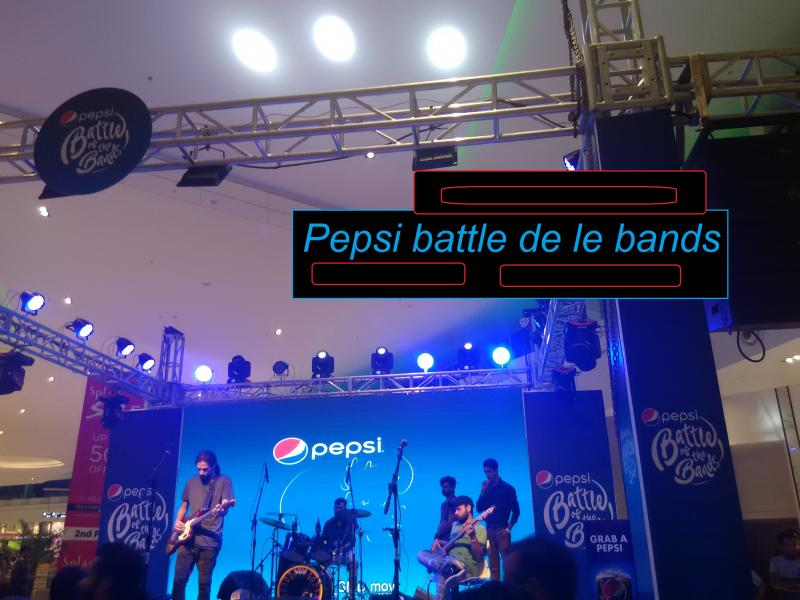 pepsi battle of the bands packages