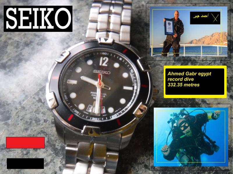 seiko dive watch ahmed gabr egypt