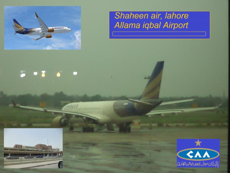 shaheen air straight lahore airport