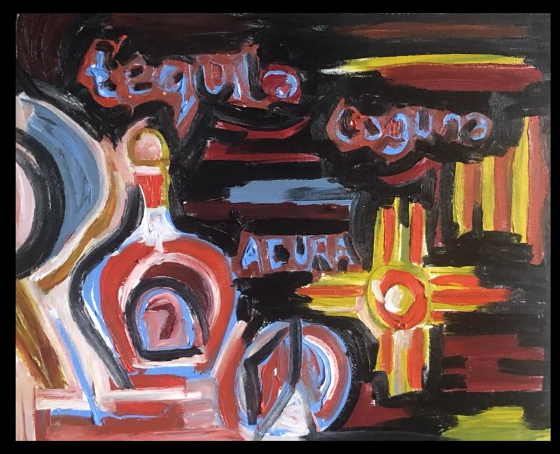 tequiLa Laguba Acure new mexico cross