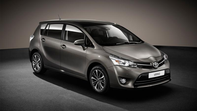 toyota verso grey MPV these are nice arent they