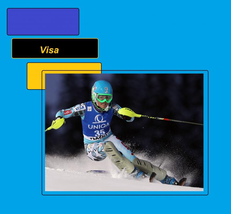 visa uniqua skiing